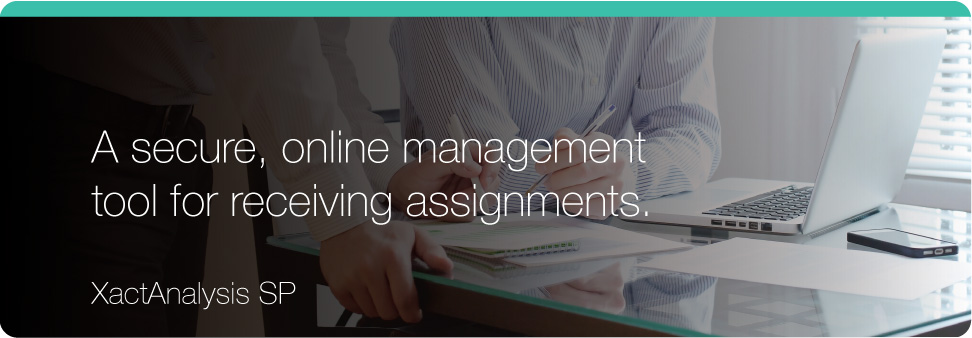 A secure online management tool for receiving assignments.
