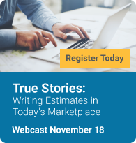 True Stories: Writing Estimates in Today's Marketplace
