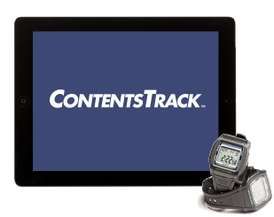 iPad with ContentsTrack