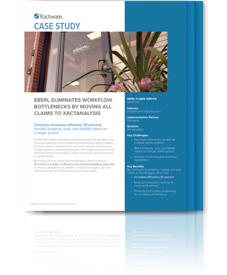 Download the Eberl Claims Service XactAnalysis Case Study