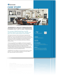 Download the Jennings & Woldt Remodeling XactRemodel Case Study