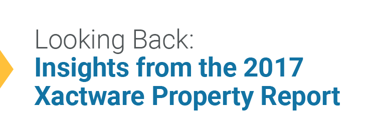 Looking Back: Insights from the 2017 Xactware Property Report
