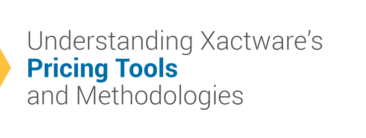 Understanding Xactware's Pricing Tools and Methodologies