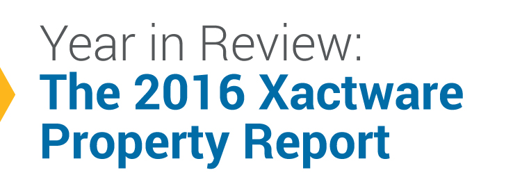 Year In Review: The 2016 Xactware Property Report