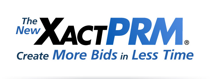 The New XactPRM: Create More Bids in Less Time