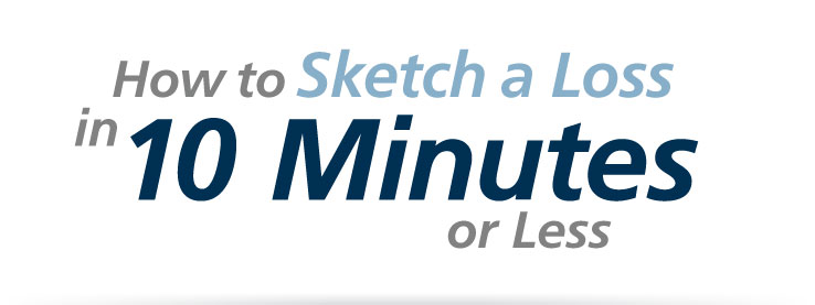 How to Sketch a Loss in 10 Minutes or Less